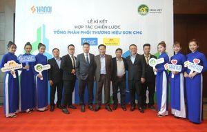 Sơn Hà Nội ký thỏa thuận hợp tác với Tập đoàn Minh Việt