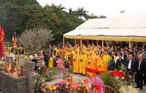 Đại lễ cầu siêu các anh hùng liệt sĩ hi sinh trên đường 20 Quyết Thắng