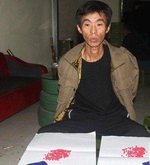 Vừa ra tù, nam thanh niên bị bắt giữ vì tàng trữ gần 300 viên ma túy