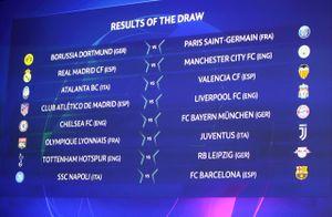 'Đại chiến' Tây Ban Nha - Anh ở vòng 16 đội Champions League