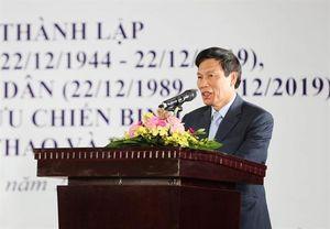 Bộ trưởng Nguyễn Ngọc Thiện: Hội Cựu chiến binh Bộ VHTTDL tiếp tục phát huy truyền thống anh bộ đội cụ Hồ