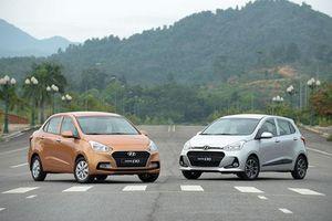 Hyundai Grand i10 vẫn 'bá đạo', Toyota Wigo, Kia Morning giá rẻ tỏ ra hụt hơi