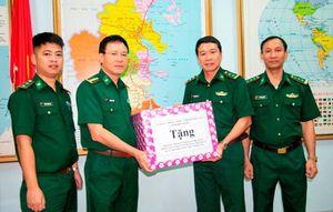 Bộ Chỉ huy Bộ đội Biên phỏng tỉnh thăm các đồn biên phòng đóng quân trên đảo
