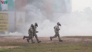 Việt Nam - Campuchia diễn tập cứu hộ, cứu nạn khu vực biên giới