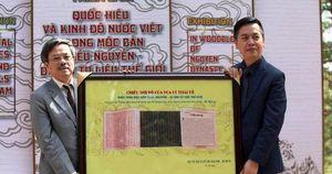 Quảng bá hơn 30 hình ảnh trong Di sản Mộc bản triều Nguyễn