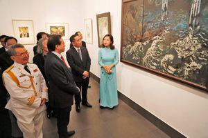 Bảo tàng Mỹ thuật Việt Nam khai mạc triển lãm 'Từ nhân dân mà ra'