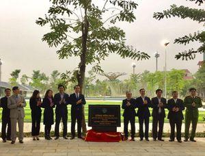 Vĩnh Phúc: Gắn biển 3 công trình chào mừng kỷ niệm 120 năm đô thị Vĩnh Yên