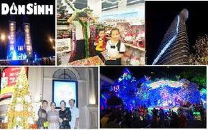 Chùm ảnh: Chơi ở đâu mùa Noel 2019 tại Sài Gòn?