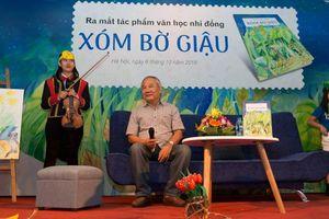 Nhà văn Trần Đức Tiến: 'Đừng áp đặt quá nhiều bài học cho con trẻ'