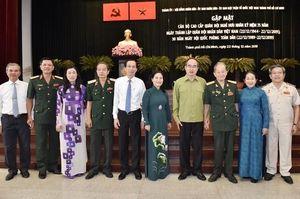 Nhiều hoạt động kỷ niệm 30 năm Ngày hội Quốc phòng toàn dân và 75 năm Ngày thành lập QÐND Việt Nam