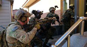 Mỹ - Hàn khoe khả năng phối hợp đột kích và tấn công căn cứ quân sự Triều Tiên