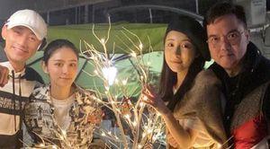 Sao Hoa ngữ đón Giáng sinh