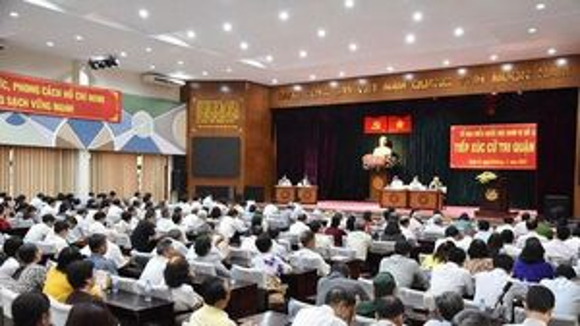 Lịch tiếp xúc cử tri sau kỳ họp thứ 17 HĐND TPHCM khóa IX