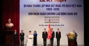 Nhìn lại một năm nhiều dấu ấn của Nhà hát Nhạc Vũ Kịch Việt Nam