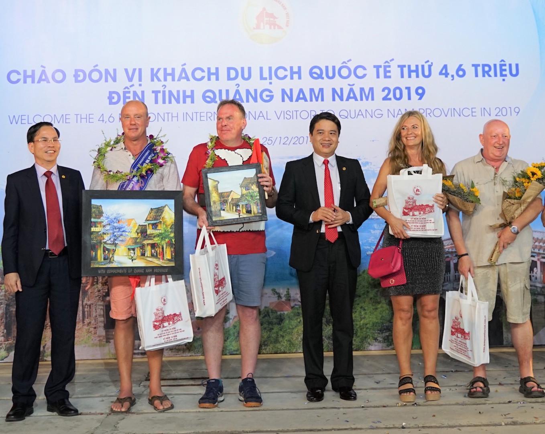 Quảng Nam đón vị khách quốc tế thứ 4,6 triệu