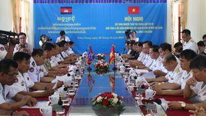 Hải quân Việt Nam và Campuchia phối hợp tuần tra chung