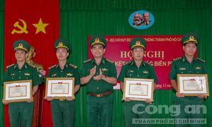 Bộ đội biên phòng TPHCM góp phần giữ vững an ninh trật tự biên giới