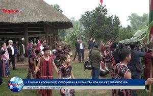 Lễ hội Aza Koonh được công nhận là Di sản văn hóa phi vật thể quốc gia