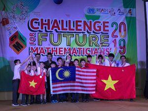 Việt Nam giành 10 Huy chương Vàng tại cuộc thi Thử thách nhà Toán học tương lai
