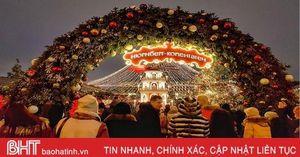 Nước Nga tưng bừng chào đón năm mới 2020 qua góc kính du học sinh Hà Tĩnh