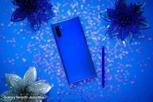 Đẹp ngẩn ngơ Galaxy Note10+ 'Xanh như mắt biếc'