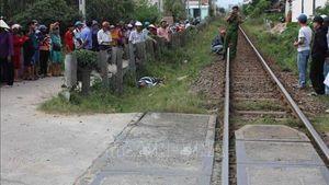 Băng qua đường ngang thiếu quan sát, người đàn ông bị tàu hỏa tông tử vong