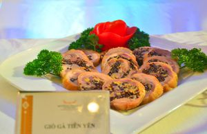 Giò gà Tiên Yên - món ăn ngon, đậm hương vị Tết