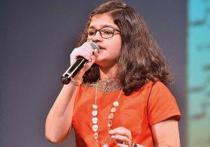 Nữ sinh hát 102 thứ tiếng giành giải thưởng 'Thần đồng toàn cầu'