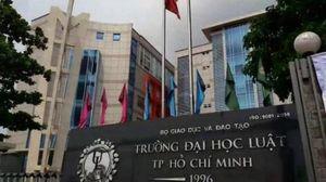Trường Đại học Luật TP Hồ Chí Minh công bố tuyển sinh năm 2020