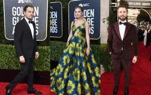 Taylor Swift diện đầm vàng dịu dàng, Chris Evans nổi bật giữa dàn quý ông lịch lãm trên thảm đỏ 'Quả cầu vàng 2020'