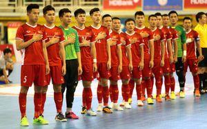 Triệu tập 20 cầu thủ chuẩn bị cho vòng chung kết futsal châu Á 2020