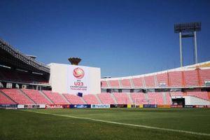Thái Lan hoàn thiện 4 sân thi đấu ở VCK U23 châu Á