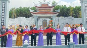 Thủ tướng Nguyễn Xuân Phúc dự lễ khánh thành Đền thờ Liệt sĩ Núi Quế- Anh Linh Đài