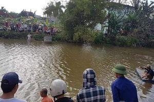 Thái Bình: Nghi vấn nữ giáo viên nhảy sông tự tử do trầm cảm