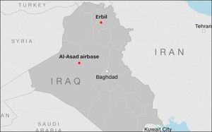 Iran thông báo Iraq, và Iraq 'nói trước' cho Mỹ về vụ tấn công căn cứ