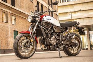 Yamaha XSR700 2020 bổ sung màu mới, giá từ 8.500 USD
