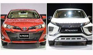 Toyota Vios lên ngôi 'vua doanh số', Misubishi Xpander tụt hạng