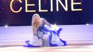 Hoa hậu Bỉ 2020 gặp sự cố hy hữu trên sân khấu chung kết