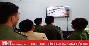 Thị trấn Thạch Hà lắp 14 camera giám sát an ninh trật tự