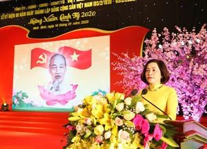 Tự hào về Đảng quang vinh, nguyện chung sức, đồng lòng xây dựng quê hương Ninh Bình ngày càng giàu đẹp, văn minh(*)