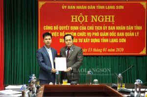 Lạng Sơn, Lào Cai, Ninh Bình có nhân sự, lãnh đạo mới