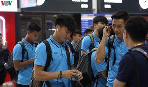 U23 Việt Nam rời Buriram về Bangkok chuẩn bị cho trận gặp Triều Tiên