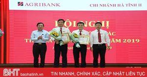 Agribank Hà Tĩnh II đặt mục tiêu huy động vốn tăng tối thiểu 15%