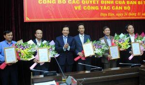 Điện Biên, Sơn La, Cao Bằng có nhân sự, lãnh đạo mới