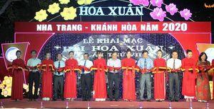 Khai mạc Hội hoa Xuân Nha Trang - Khánh Hòa 2020