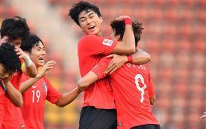 Đánh bại Jordan ở phút 90+5, Hàn Quốc vào bán kết U23 Châu Á