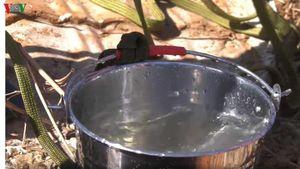 Người dân ở Bình Phước lo lắng vì nước giếng sinh hoạt có mùi lạ