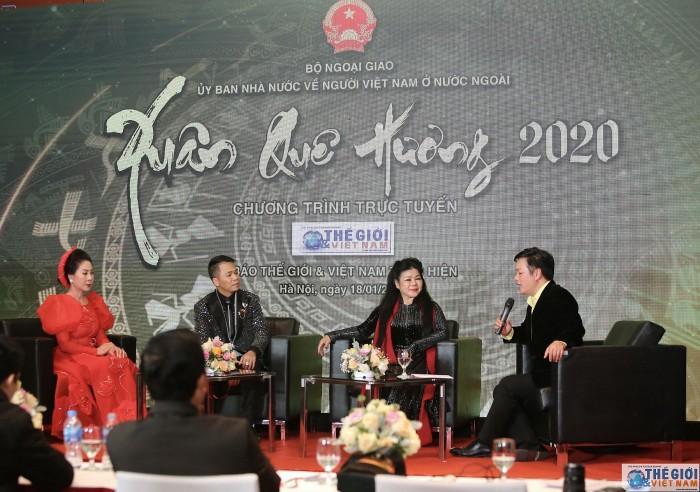 Công ty CP Tiền Phong tham gia thực hiện tọa đàm trực tuyến Xuân quê hương 2020