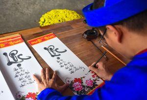 Tái hiện 'Chợ quê ngày Tết' ở Thành cổ Quảng Ngãi