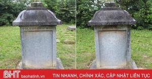 Thủ tướng công nhận Bia Sùng Chỉ ở Hà Tĩnh là bảo vật quốc gia